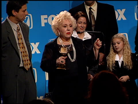 doris roberts at the tv guide awards at the shrine auditorium in los angeles, california on february 24, 2001. - doris roberts stock videos & royalty-free footage