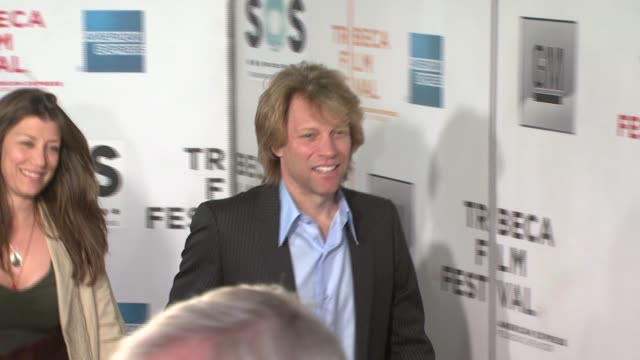 Dorothea Hurley and Jon Bon Jovi at the 2007 Tribeca Film Festival Opening Night at BMCC TribecaPAC in New York New York on April 25 2007