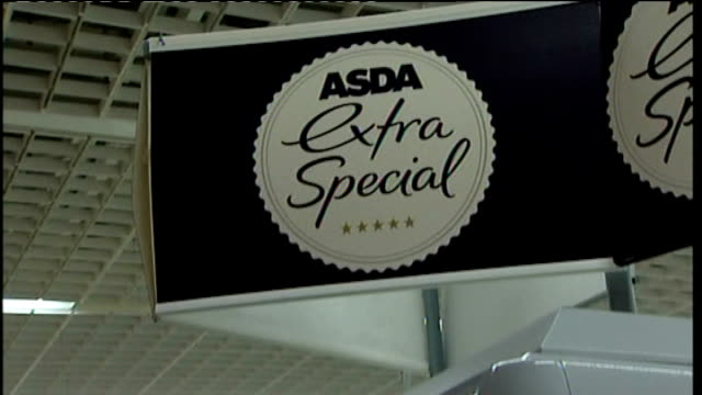 """weymouth: int gordon brown mp touring asda supermarket - female customer tells sarah brown """"'i would suggest your husband changes his career because... - douglas alexander stock videos & royalty-free footage"""