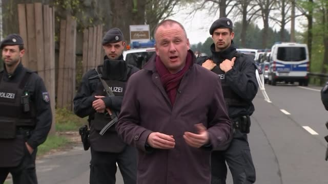 suspect arrested as motive remains unclear Dortmund coach attack suspect arrested as motive remains unclear Dortmund Various of police officers and...