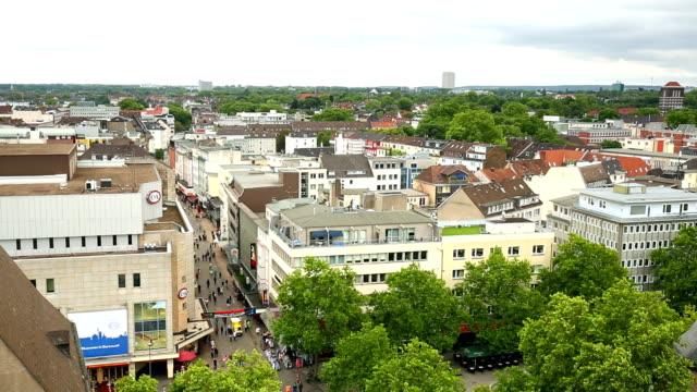 dortmund skyline - dortmund city stock videos and b-roll footage