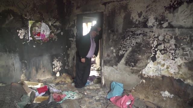 dos israelies fueron inculpados este domingo por la muerte de un bebe palestino y de sus padres en un incendio criminal que conmociono profundamente... - palestina stock videos and b-roll footage