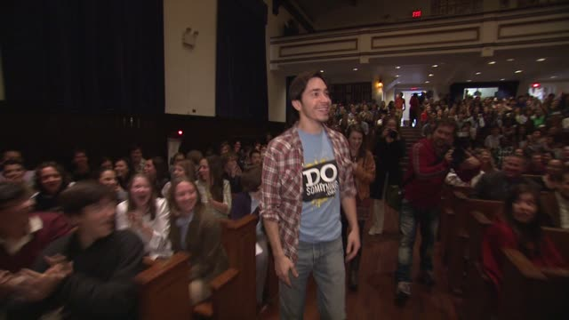 dosomething.org re-launches as a membership-based organization with help from justin long and harry shum jr., new york, ny, ca, united states,... - do something organization stock videos & royalty-free footage
