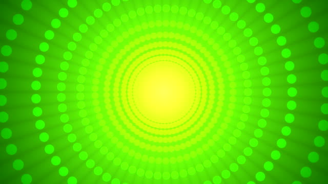 dot wheel green - concentric stock videos and b-roll footage