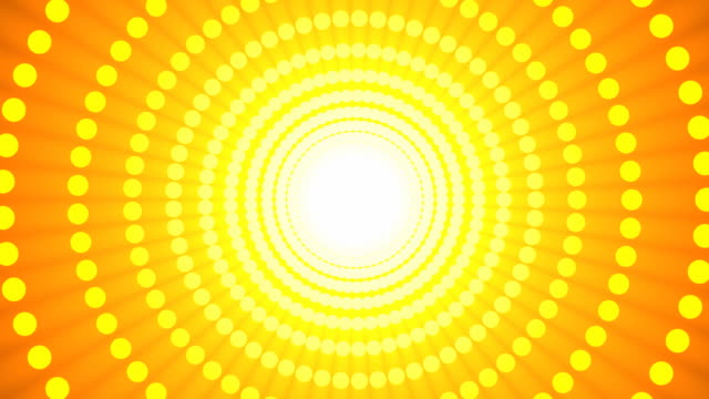 dot wheel yellow - concentric stock videos & royalty-free footage