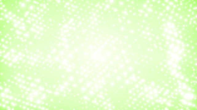 緑の背景 (単発) ドット
