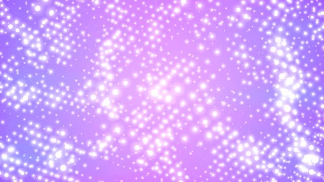 Punkte auf lila Hintergrund (Endlos wiederholbar)