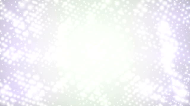 Dots on White Background (Loopable)