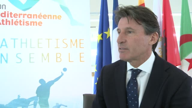 vídeos de stock, filmes e b-roll de double olympic medalist and 2012 london olympic chairman sebastian coe says paris needs to consider why and not how it wants to stage the games in... - sebastian coe