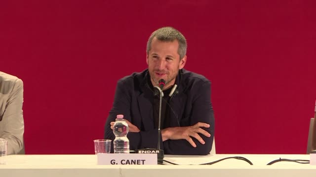 doubles vies directed by olivier assayas and starring juliette binoche and guillaume canet is presented in competition at the venice film festival - juliette binoche stock videos & royalty-free footage