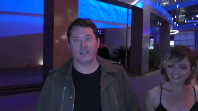 doug benson leaves the super troopers 2 premiere at arclight cinemas in hollywood in celebrity sightings in los angeles - super troopers 2 stock videos & royalty-free footage