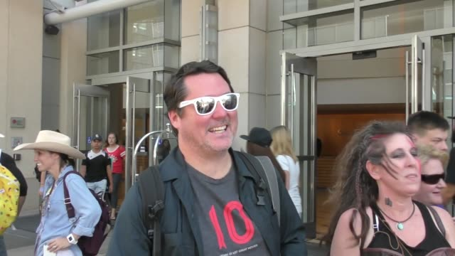 INTERVIEW Doug Benson on OJ Simpson being allowed to smoke weed while on parole at Celebrity Sightings at San Diego ComicCon International on July 21...