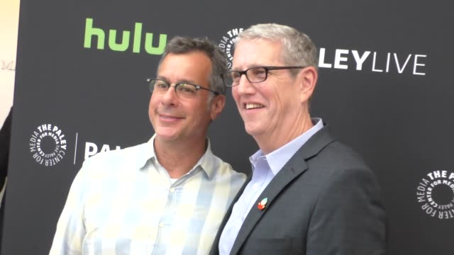 doug herzog & kent alterman at the paley center for media presents special retrospective event honoring 20 seasons of south park at the paley center... - paley center for media los angeles stock videos & royalty-free footage