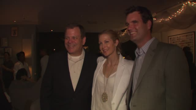 doug jones of nature made kelly rutherford and bryan white of nature made at the launch event for naturemade sleep at west hollywood ca - kelly rutherford stock videos & royalty-free footage