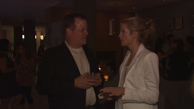 doug jones of nature made kelly rutherford at the launch event for naturemade sleep at west hollywood ca - kelly rutherford stock videos & royalty-free footage