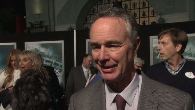 interview doug merrifield on what it means to have his movie premiere at such an iconic theater on if he's excited to see it in imax and on what... - tcl chinese theater stock-videos und b-roll-filmmaterial