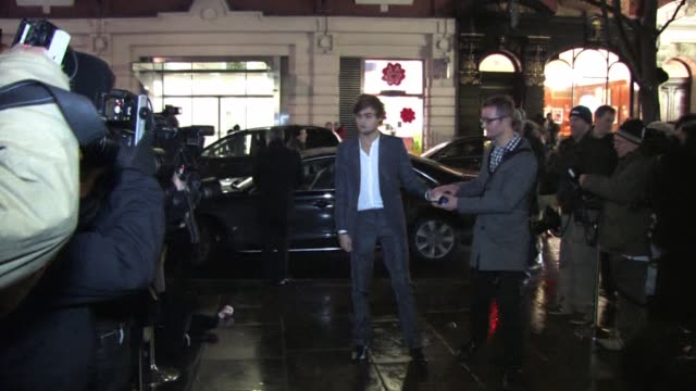 douglas booth arrives for the gala performance of the nutcracker the nutcracker gala performance arrivals at the coliseum on december 15 2010 in... - the nutcracker named work stock videos & royalty-free footage