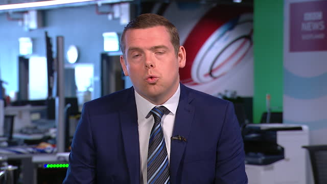 douglas ross saying he is working to resolve issues faced by the scottish fishing industry post-brexit - solutions stock videos & royalty-free footage