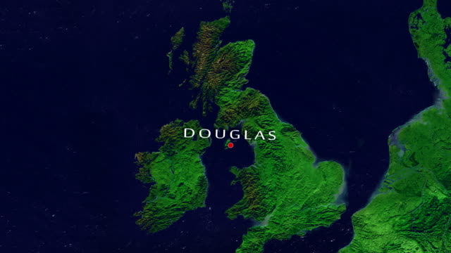 douglas zoom in - isle of man stock videos & royalty-free footage