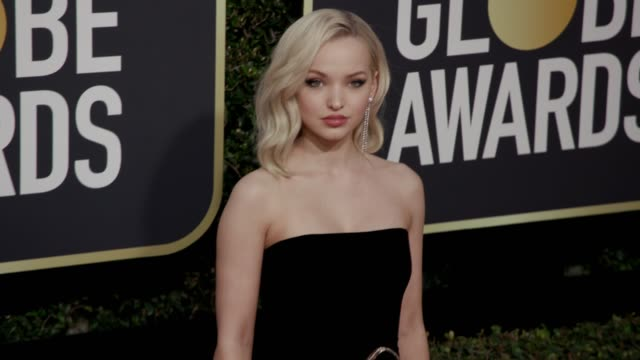 Dove Cameron at the 75th Annual Golden Globe Awards at The Beverly Hilton Hotel on January 07 2018 in Beverly Hills California