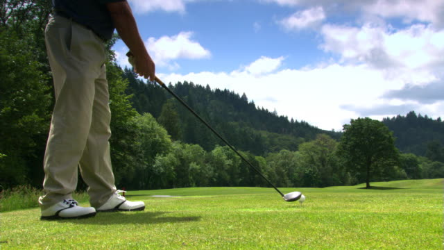 down the fairway - see other clips from this shoot 1271 stock videos & royalty-free footage