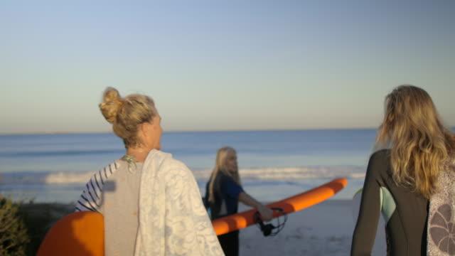 down to the beach - australia stock videos & royalty-free footage