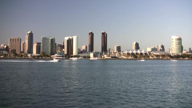 Unten die Stadt San Diego