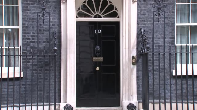 downing street cabinet arrivals and departures at no.10; england: london: downing street: no.10 ext esther mcvey mp departs / caroline nokes mp... - david m. davis politician stock videos & royalty-free footage