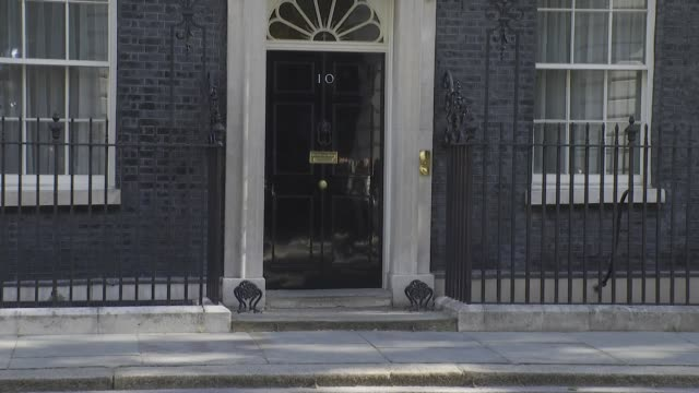 downing street cabinet arrivals; england: london: westminster: downing street: ext michael gove mp arriving at the fco / george eustice mp arriving /... - ben wallace stock videos & royalty-free footage