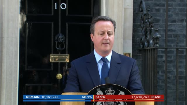 special part5 downing street ext side view of david cameron mp and wife samantha cameron departing number 10 cameron at podium david cameron mp press... - david cameron politician stock videos & royalty-free footage