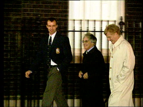allegations lib ext slow motion f1 boss bernie ecclestone along - bernie ecclestone stock videos & royalty-free footage