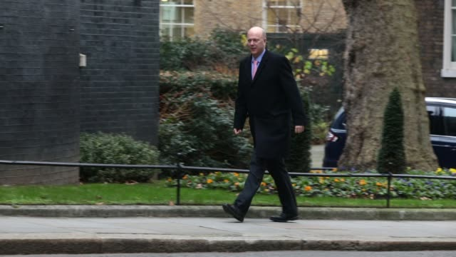 Downing Street London UK January 9th 2018 Transport Secretary Chris Grayling arrives as government ministers attend the first Cabinet meeting of the...