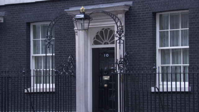 10 downing street - 10 downing street stock videos and b-roll footage