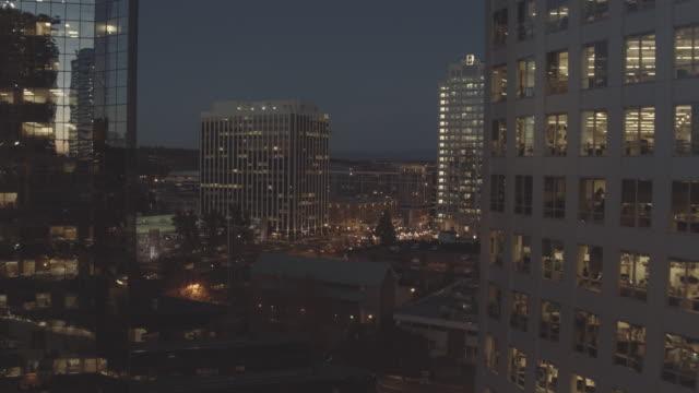 In der Innenstadt bei Nacht
