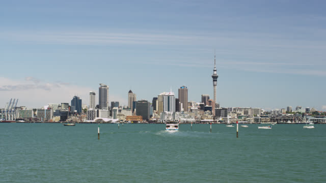 downtown auckland - auckland ferry stock videos & royalty-free footage