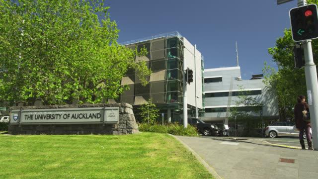 vídeos y material grabado en eventos de stock de downtown auckland - nueva zelanda