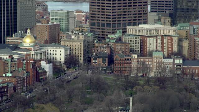downtown boston - boston massachusetts stock videos & royalty-free footage