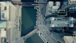 Downtown Chicago - Bird Eye View