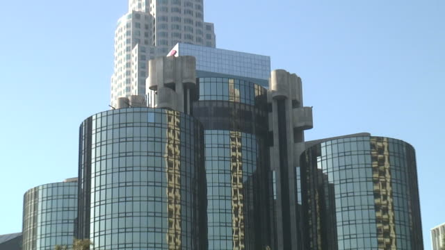 (HD1080) Downtown City Towers, Zoom Out