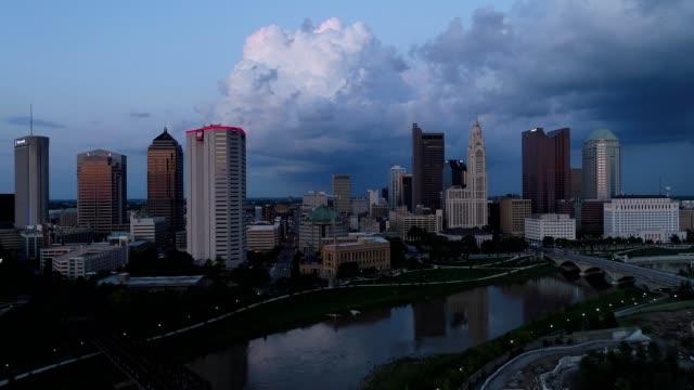 Downtown Columbus Ohio at Twilight