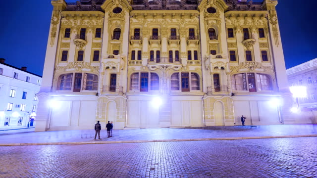 downtown district at night - seeing paris: on the boulevards stock videos & royalty-free footage