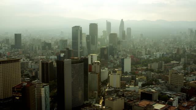 vídeos y material grabado en eventos de stock de downtown district in mexico city mexico - ciudad de méxico