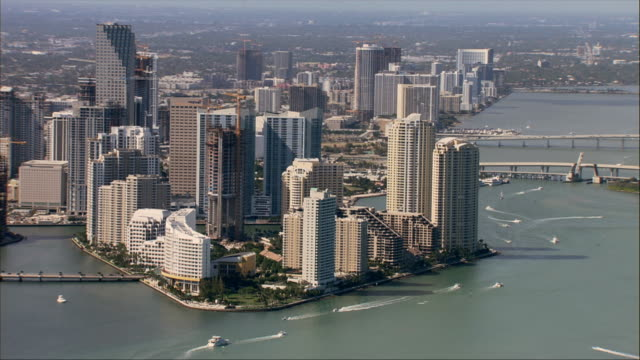 AERIAL, Downtown District, Miami, Florida, USA