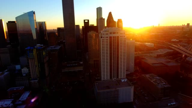 downtown houston - texas stock videos & royalty-free footage