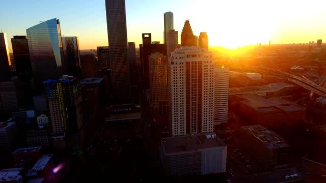 downtown houston - texas stock-videos und b-roll-filmmaterial