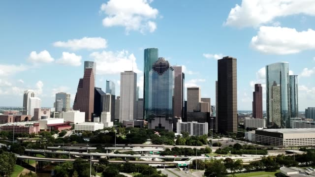 downtown houston - film tilt stock videos & royalty-free footage