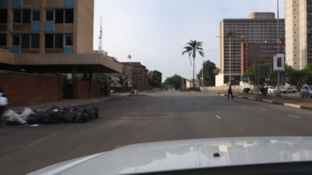Downtown in Harare, Zimbabwe
