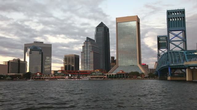 downtown jacksonvile - jacksonville florida stock videos and b-roll footage