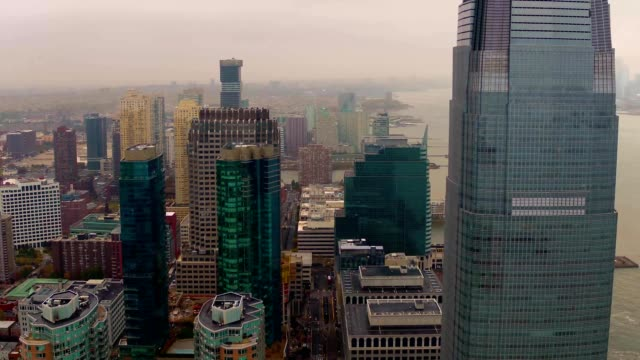 downtown jersey city - new jersey stock videos & royalty-free footage