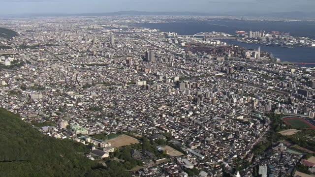 AERIAL, Downtown Kobe, Hyogo, Japan